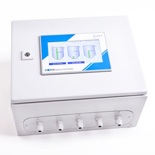 NivoTec NT 4600 - Level monitoring and visualisation via webserver integrated within a control cabinet