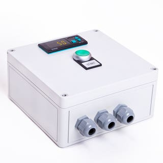 Nivotec NT 4700 - Level monitoring and visualisation system with 4 digit display  - diagonal view