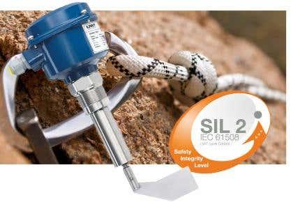 SIL2 für Drehflügel Grenzstandmelder