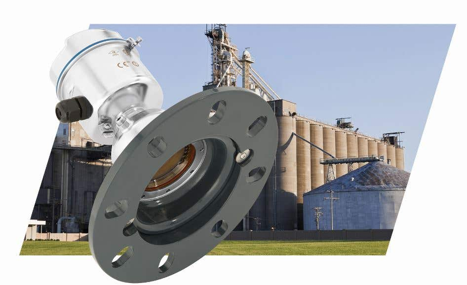 Free-radiating radar measurement in animal feed production