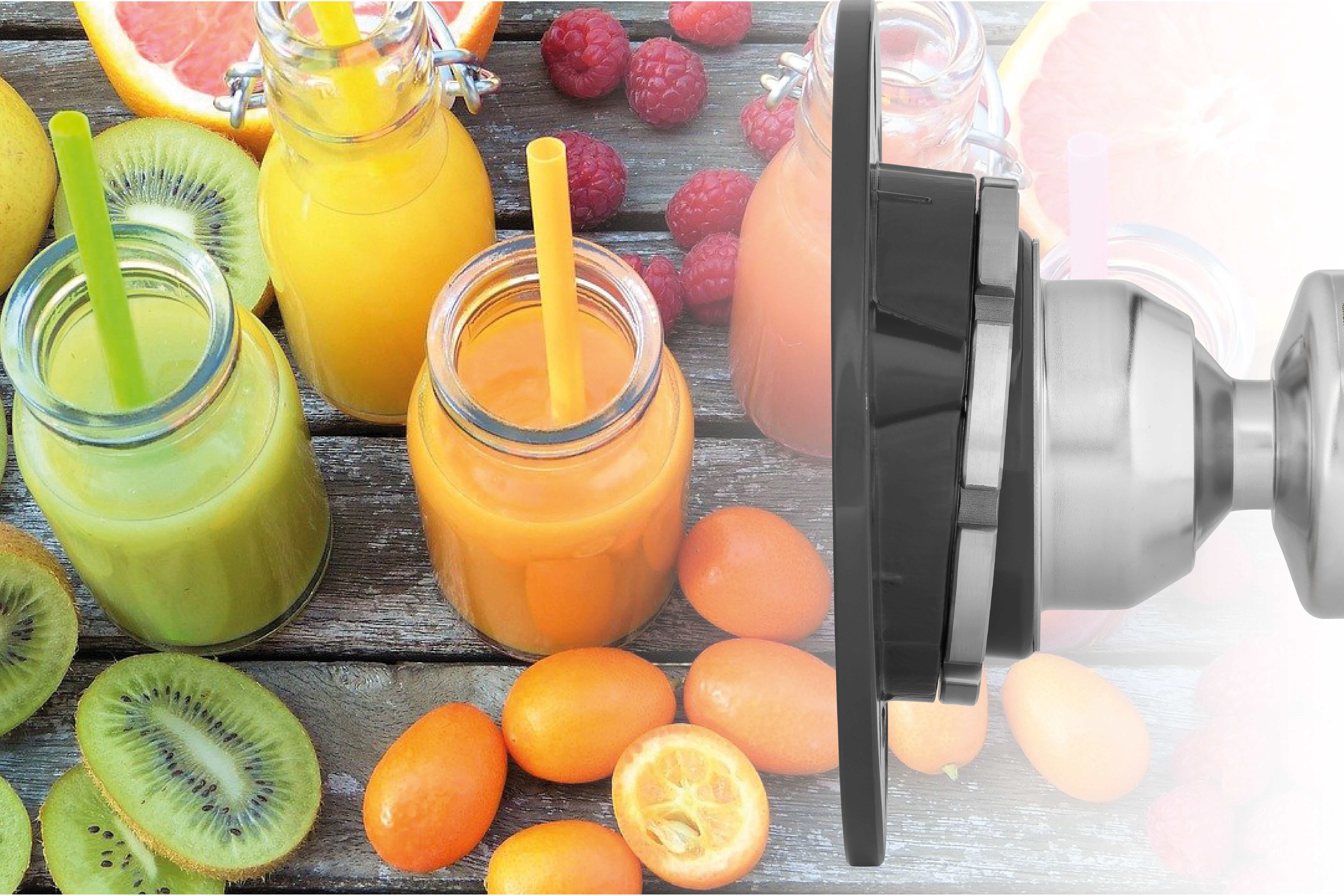 Radar measurement for fruit juice production