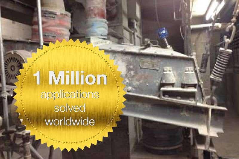1 Mio Mal erfolgreich den Füllstand erfasst
