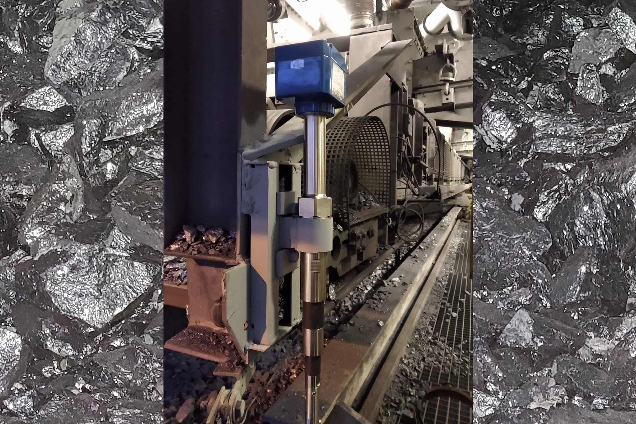 RF em rocha de silício metálico