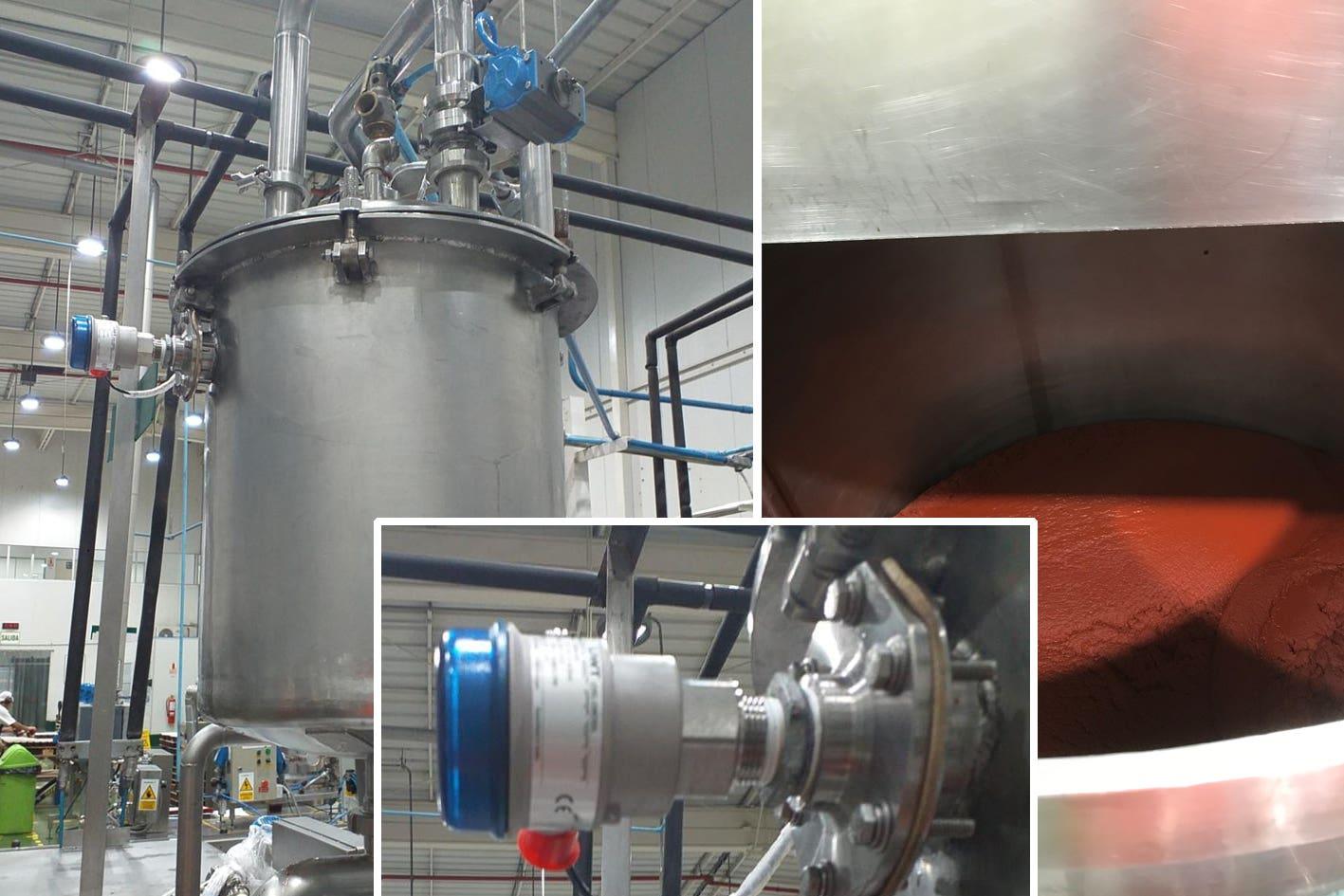 Überlaufschutz bei der Herstellung von Tomatenmark