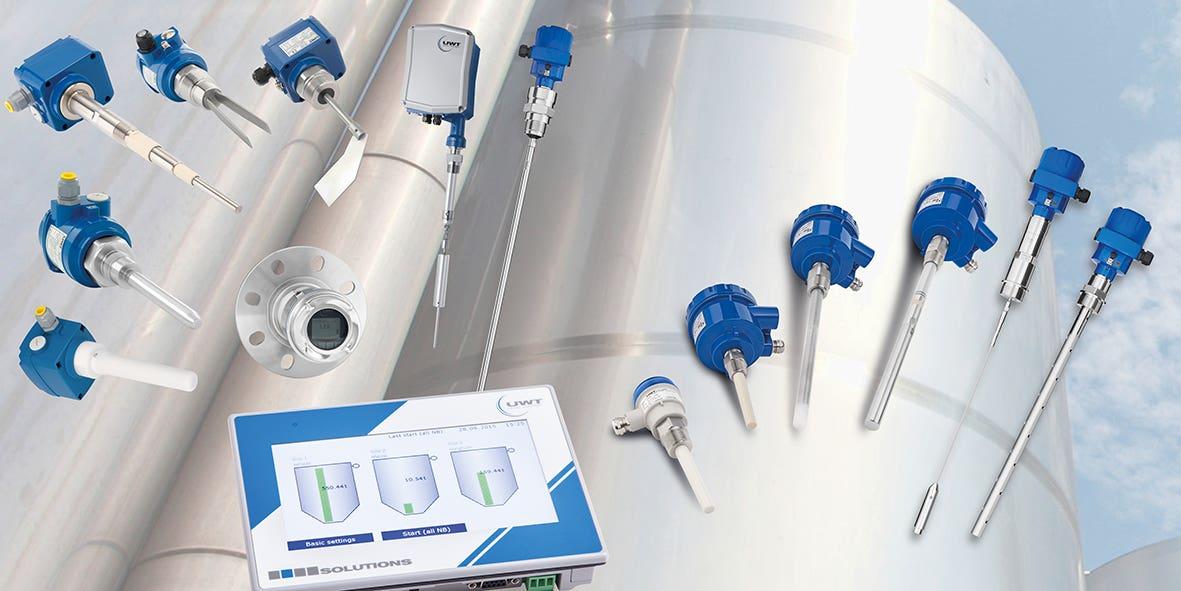 Uwt product portfolio level measurement equipment